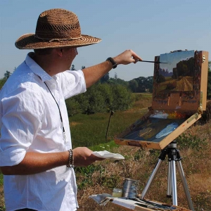 Plein Air Painting on the West Coast