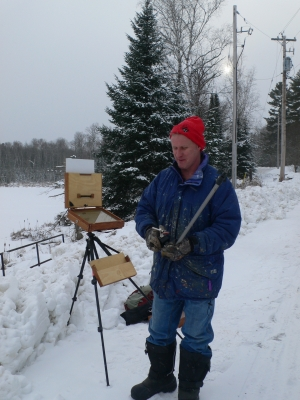 Winter Plein Air Painting